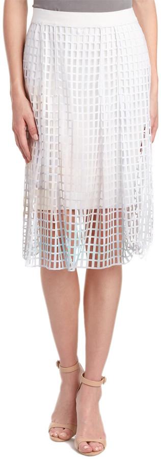 Elie Tahari Midi Skirt