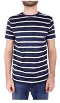 Paul & Shark Men's White/blue Cotton T-shirt.