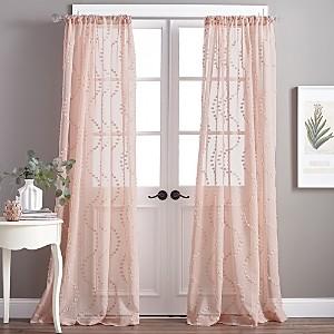 Peri Home Dixon Wave Rod Pocket Curtain Panel, 50 x 95