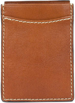Patricia Nash Men Leather Money Clip Credit Card Case
