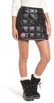 Canada Goose Women's 'Hybridge Lite' Quilted Goose Down Miniskirt