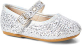 Zula Shoes Girls' Mary Janes SILVER - Silver Sequin Rivet Flat - Girls