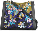 Emilio Pucci floral cross-body tote