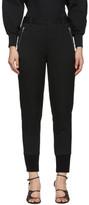 3.1 Phillip Lim Black Wool Jogger Trousers