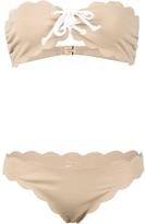 Marysia Swim Antibes Strapless Top and Tie Bottom Bikini