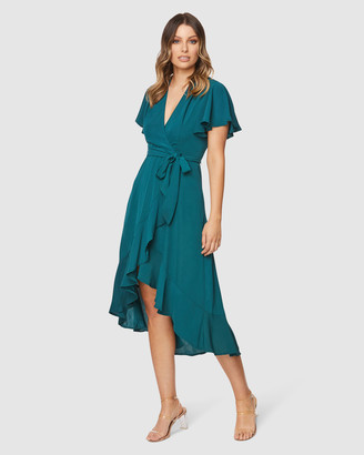 Pilgrim Women's Green Maxi dresses - Lorin Maxi Dress - Size One Size, 6 at The Iconic