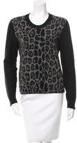Sonia Rykiel Wool Intarsia Sweater