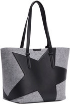 KENDALL + KYLIE Izzy Star Flannel Tote Bag