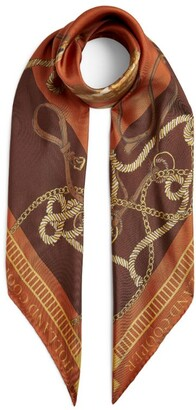 Holland Cooper Silk Scarf