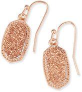 Kendra Scott Lee Earrings in Rose Gold Drusy