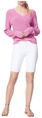 Paige Jax Cutoffs Shorts in Dove White Destructed (Dove White Destructed) Women's Shorts