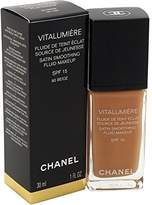 Chanel Vitalumiere Satin Smoothing SPF 15 Fluid Makeup for Women,1 Ounce