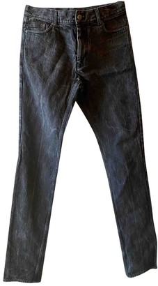 Saint Laurent Anthracite Denim - Jeans Trousers