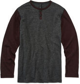 Ocean Current Long Sleeve Henley Shirt - Big Kid Boys