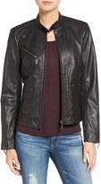 Bernardo Petite Women's Kirwin Leather Jacket