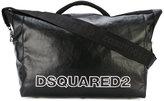 DSQUARED2 Nero duffel bag