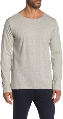 Lacoste Long Sleeve Pocket Lounge T-Shirt