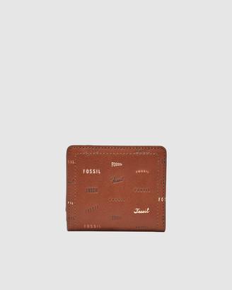 Fossil Logan Brown Wallet