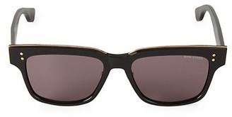 Dita Eyewear 55MM Tortoiseshell Rectangular Sunglasses