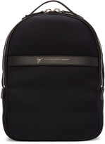 Giuseppe Zanotti Black Savoca Backpack