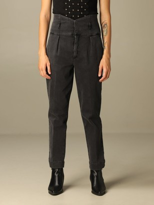 Pinko Ariel 4 High-waisted Jeans With Belt