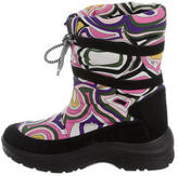 Emilio Pucci Printed Moon Boots