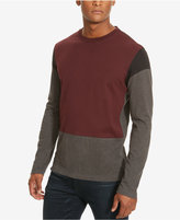 Kenneth Cole New York Men's Colorblocked Long-Sleeve T-Shirt