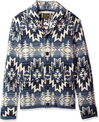 Lucky Brand Men's Shawl Collar Cardigan Sweater