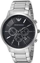 Emporio Armani Men's AR2460 Dress Silver Watch