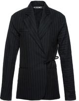 Jacquemus Linen Wrap Jacket