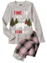 Crazy 8 Hibearnate 2-Piece Pajama Set