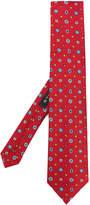 Etro embroidered motif tie