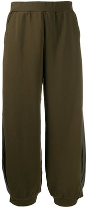 Zucca Fabric Panelled Trousers