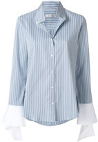 Palmer Harding Palmer / Harding ruffled cuff shirt