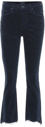 Mother The Insider Crop Step Fray pants