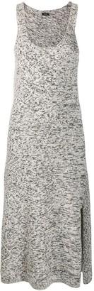 Joseph scoop-neck knitted midi dress