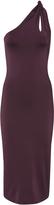 Cushnie et Ochs Gloss Jersey Twist Strap Dress Red 4