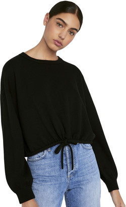 Alice + Olivia Bernetta Pullover With Drawstring