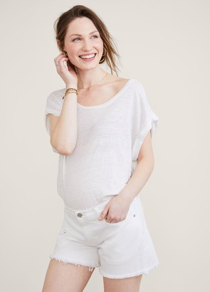 Hatch The Maternity Cut Off Shorts