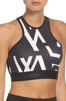 Reebok Graphic Racerback Sports Bra