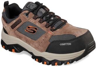 Skechers Greetah Men's Waterproof Composite Toe Shoe