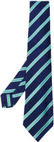 Kiton striped tie - men - Silk - One Size