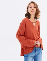 All About Eve Crash & Burn Top