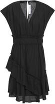 IRO Billow Tiered Linen And Cotton-blend Mini Dress