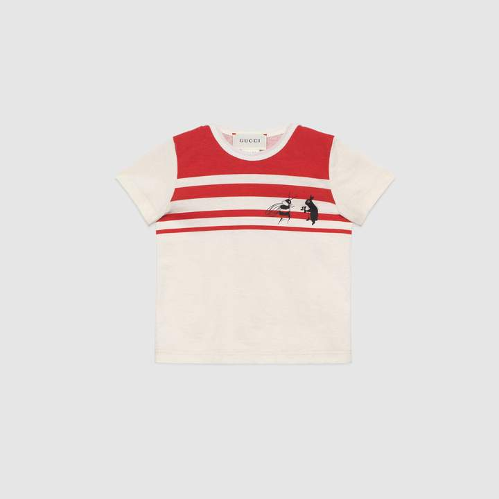 Gucci Baby Canvas Menagerie T-shirt