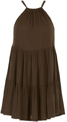 Peony Swimwear Flared Mini Dress