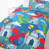 Dragon Cove Glow In The Dark Quilt Cover Set