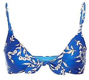 Hermanny ViX by Paula Women's Berries Knot Bralette Bikini Top