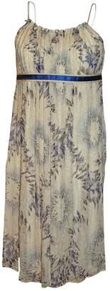 Megan Park Multicolour Silk Dress for Women