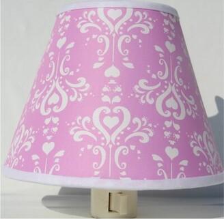 Presto Chango Decor Damask Night Light Color: Purple